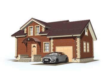 Проект дома Городец