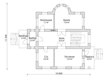Проект дома Коммунар