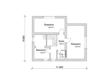 Проект дома Прохладный