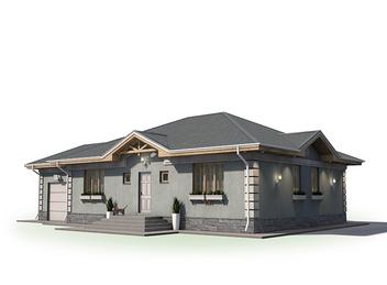 Проект дома Энгельс 2