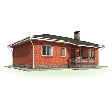 Проект дома Энгельс 4