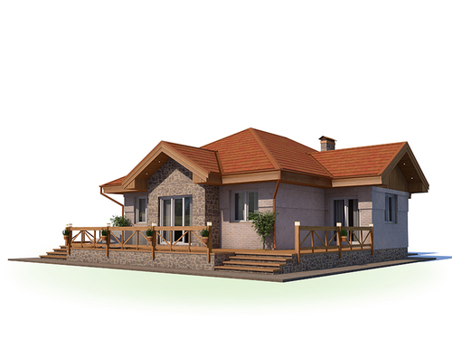 Проект дома Энгельс 5