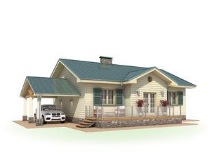 Проект дома Городец 2
