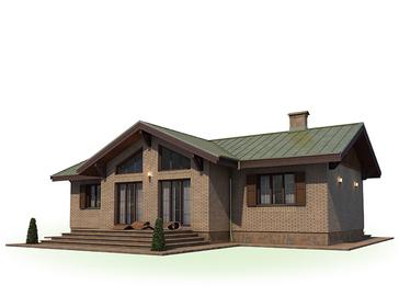 Проект дома Городец 4