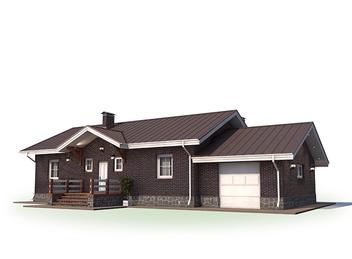 Проект дома Городец 5