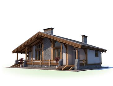 Проект дома Миасс 2