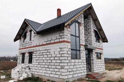 Дом из газобетонных блоков