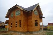 Дом из обрезного бруса