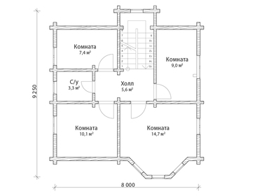 Проект дома Макаров 2
