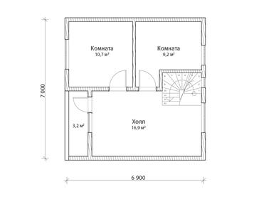 Проект дома Мирный