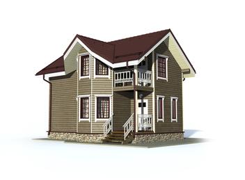 Проект дома Суздаль