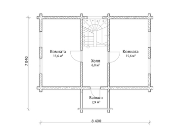 Проект дома Томари