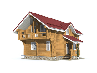Проект дома Белозерск