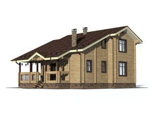 Проект дома Лебедянь