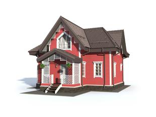 Проект дома Онега