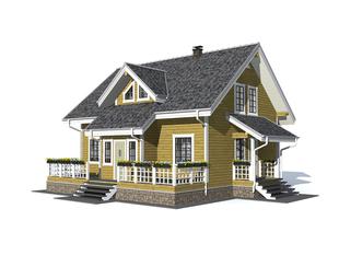 Проект дома Отрадное