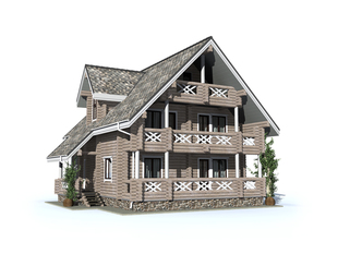 Проект дома Отрадный