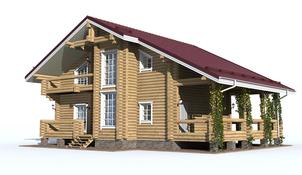 Проект дома Стародуб(с террасой)