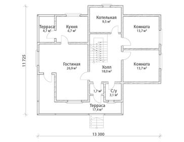 Проект дома Свободный