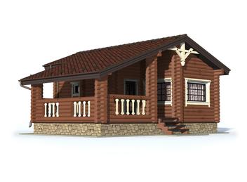 Проект дома Правдинск