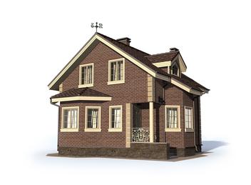 Проект дома Ивангород