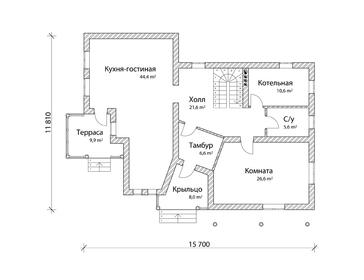 Проект дома Печоры