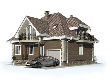 Проект дома Яхрома